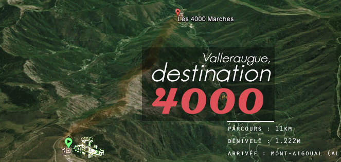 Destination 4000 marches