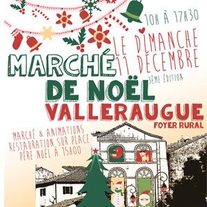 marché de noël 2016 à Valleraugue