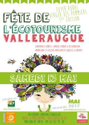 affiche fête de l'écotourisme valleraugue 2017