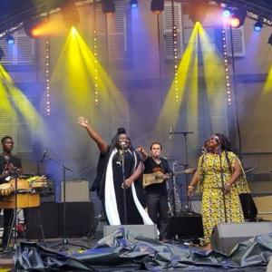 Le groupe Djeli Koura, les nouveaux griots, en provenance du Burkina Faso